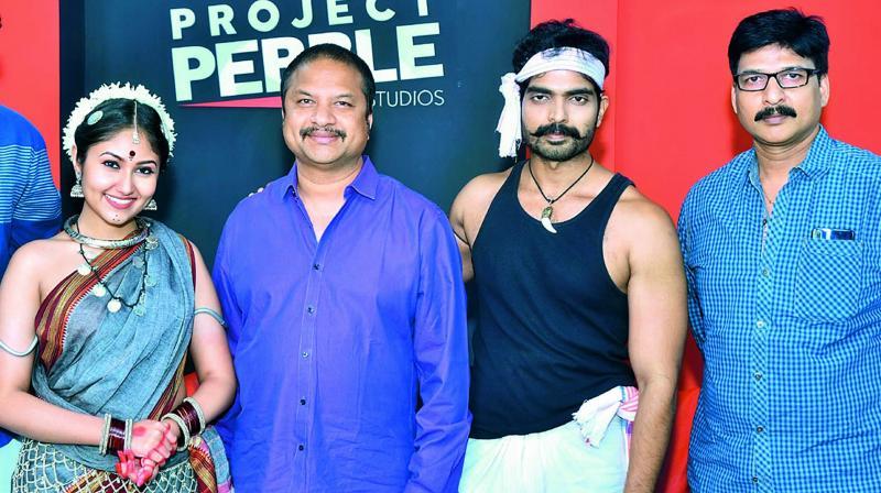 Antasheela Ghosh, R.P. Patnaik, Prashanth and Gautam Patnaik