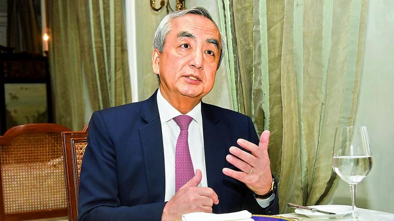 Japanese Ambassador Kenji Hiramatsu