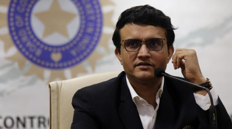 Board of Control for Cricket in India (BCCI) President Sourav Ganguly on Wednesday called India's first-ever day-night Test match a 'big occasion'. (Photo:AP)