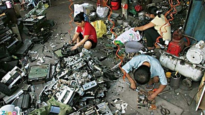 The bE-Responsible initiative has tied up with a Karnataka State Pollution Control Board (KSPCB)-authorised recycler, to ensure that the e-waste collected is managed in a socially and environmentally responsible way. (Representation image)