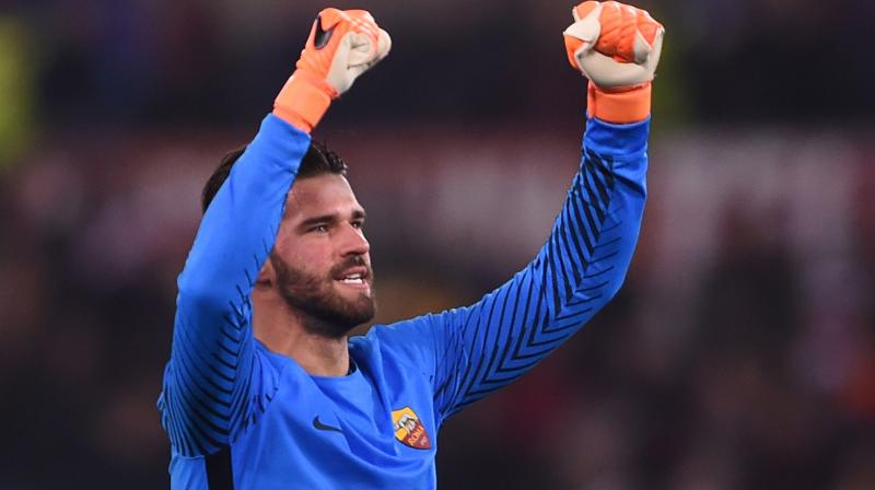 The deal will cost the Anfield giants 75 millions euros (£67million), smashing the amount paid to Benfica by Manchester City for Alisson's compatriot Ederson last summer.(Photo: AFP)