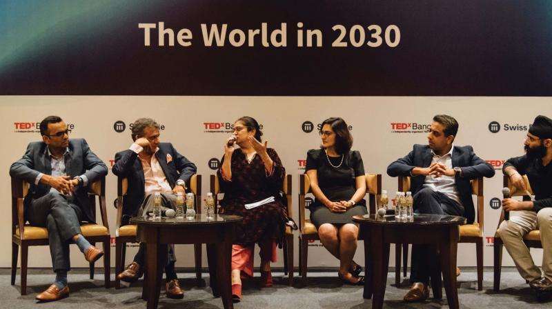 Alok Kumar, Sameer Garde, Puja Marwaha, Aditi Puri and Sartaj Anand