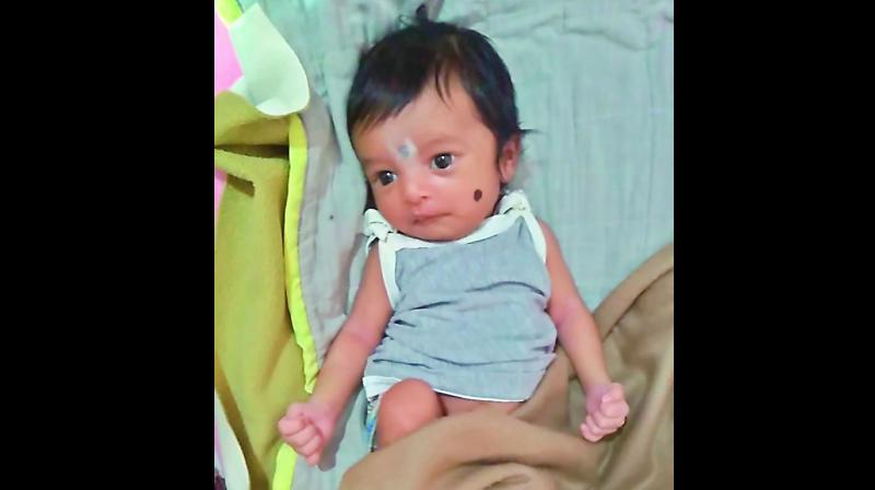 The infant victim