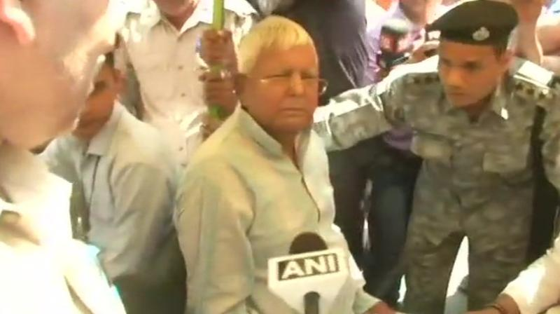 Lalu Yadav blames BJP for communal clashes in Bihar