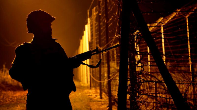 A BSF jawan allegedly shot dead 3 colleagues with his service weapon before committing suicide at a border outpost at Maguruli in Unakoti district of Tripura. (Representational Image/PTI)