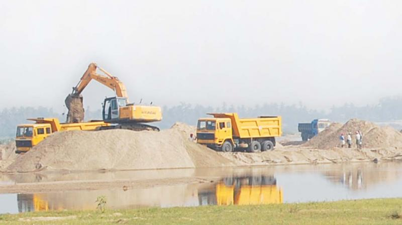 According to the official reports, the police booked 117 cases in the district since May 30, 2019 on illegal excavation and transportation of sand and also seized 258 vehicles.