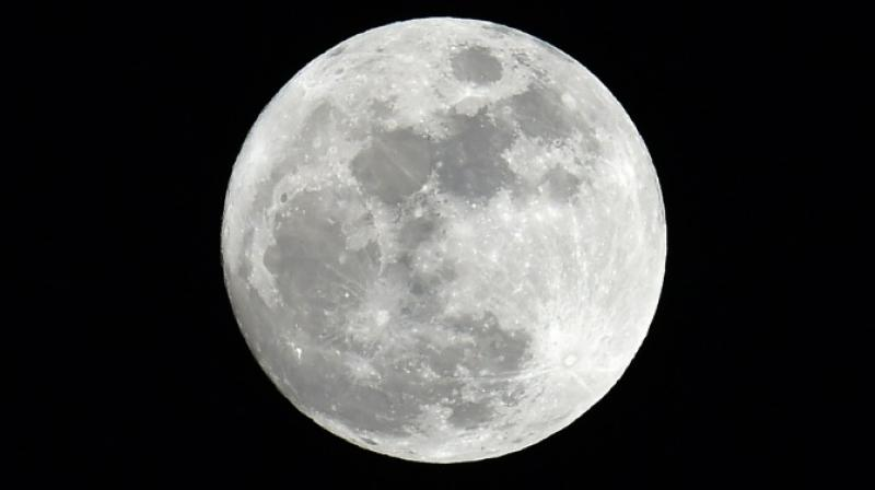 Scientists have found evidence of widespread water in the Moon's interior. (Photo: AFP)