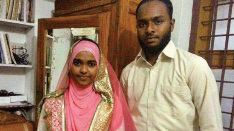 Hadiya's marriage to Shafin Jahan was annulled by the Kerala HC in 2017 after her parents alleged that she had been brainwashed, forced to convert to Islam. (Photo: File)
