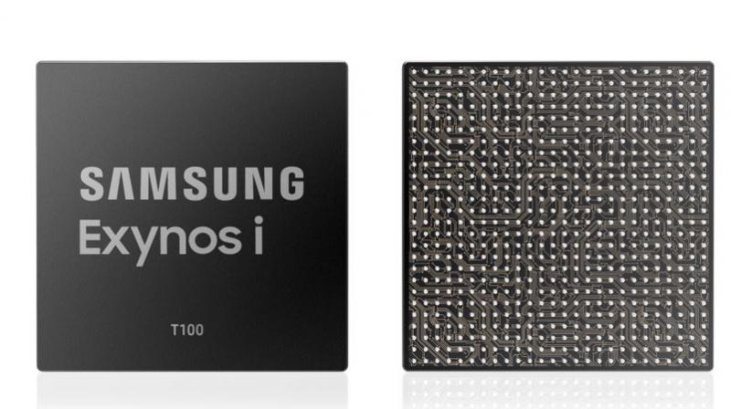 The Exynos i T100, which enhances the security and reliability of devices designed for short-range communications.