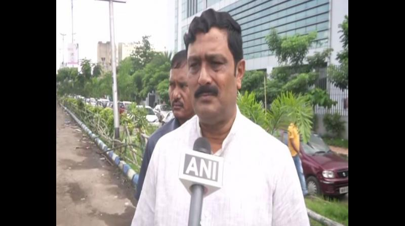 BJP leader Rahul Sinha said, 'The man who was murdered with his wife and son was an RSS worker. Mamata Banerjee must resign. There is no proper law and order in West Bengal. There is jungle raj in the state.' (Photo: ANI)