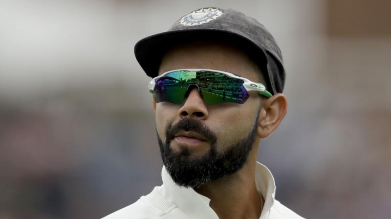 Team India captain Virat Kohli on Tuesday hit back at a journalist when he was asked about the best 'Indian team in last 15-20 years' remark made by coach Ravi Shastri. (Photo: AP)