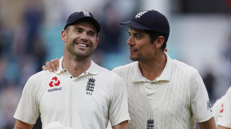 Anderson is three years older than his great friend Alastair Cook, who retired from Test cricket after the match at the Oval but has no immediate plans to quit. (Photo: AFP)