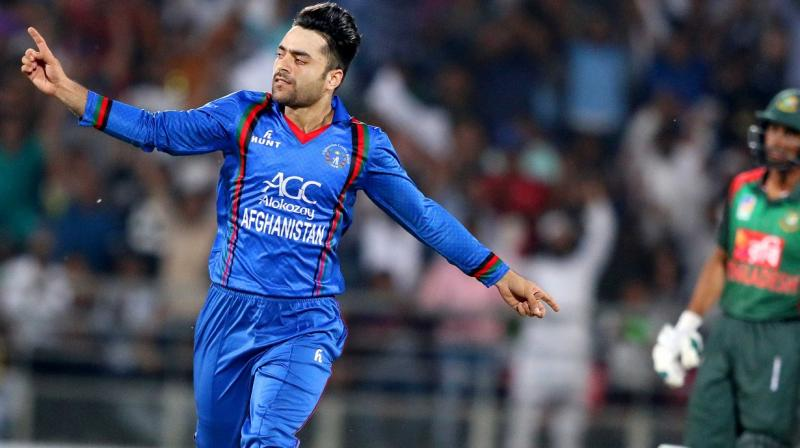 """""""Right now, Rashid is the most difficult bowler to play against. He hasn't played Test cricket, so we need to look and see what happens but I am sure he will come out as best spinner in the Test match,"""" the former West Indies opener said. (Photo: AFP)"""