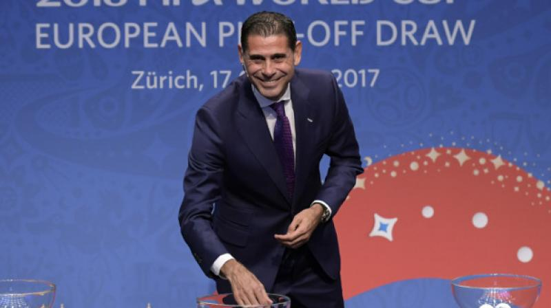 Former Spanish Football Association sporting director Fernando Hierro has been appointed as Spain football team's new head coach, it was confirmed on Wednesday. (Photo: AFP)
