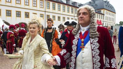 For the past fifteen years the city of Gotha transforms into an 18th Century city for the annual festival. (Photo: AP)