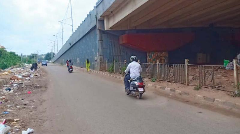 The infamous stretch on the Outer Ring Road