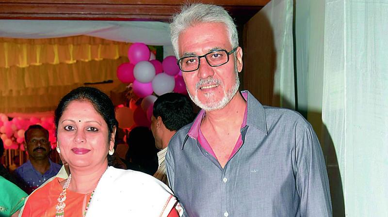 Jayasudha and Nitin Kapoor in happier times.