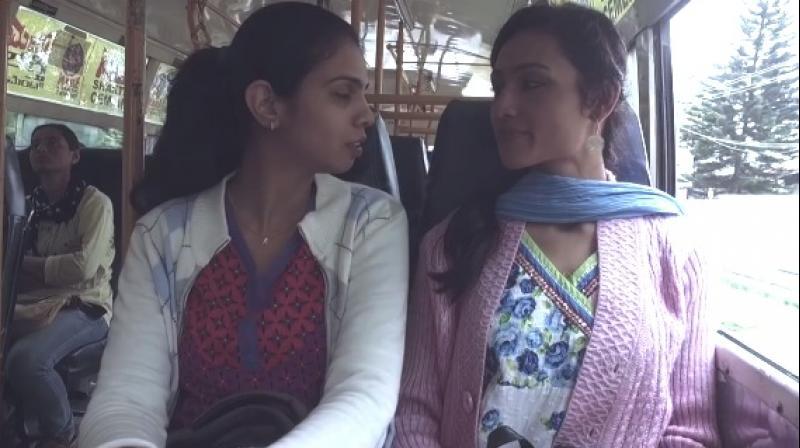 Lesbian college girls clips