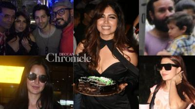 Bollywood celebrities stepped out in Mumbai city on Tuesday and were snapped by the paparazzi. (Photos: Viral Bhayani)