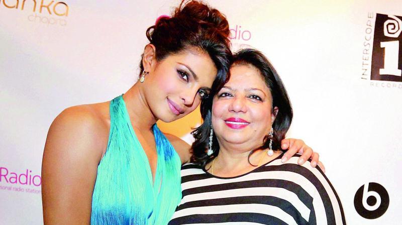 Priyanka Chopra and Madhu Chopra