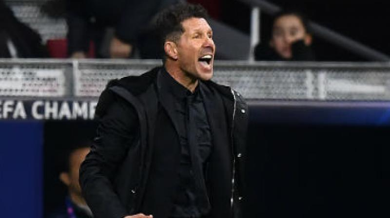 In February, former Argentina midfielder Simeone, who spent two separate spells at Atleti as a player, renewed his contract until 2022, meaning he is headed for a decade in charge. (Photo: AFP)