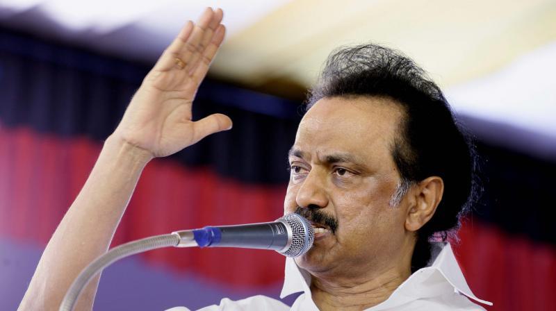 DMK leaders MK Stalin (Photo: PTI)