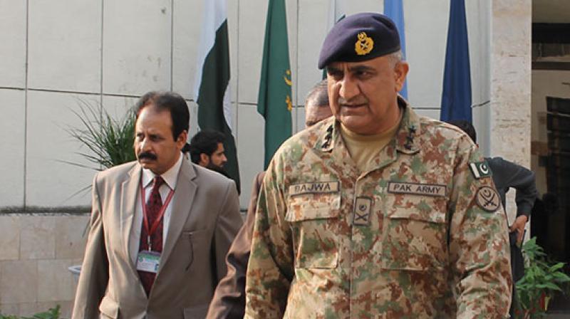 Lieutenant General Qamar Javed Bajwa (Photo: video grab)