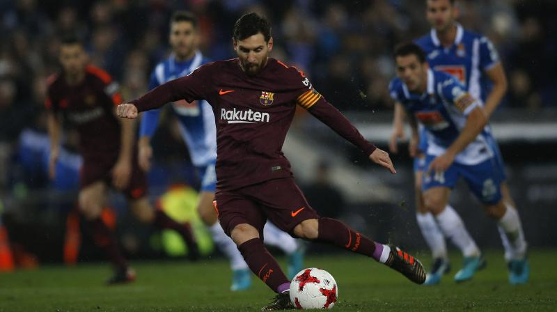 Espanyol end Barca's unbeaten run with cup win