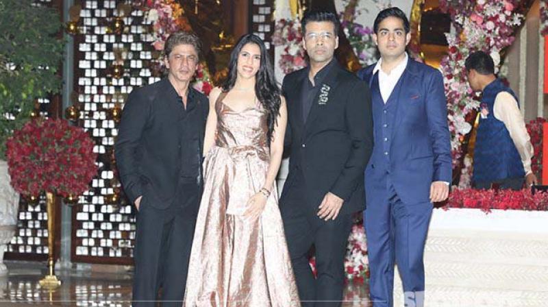 Inside Shloka Mehta and Akash Ambani's star-studded engagement party at Antilia