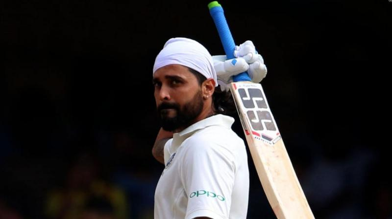 Murali Vijay played a fine innings of 105 before he was dismissed by Wafadar.(Photo: BCCI)