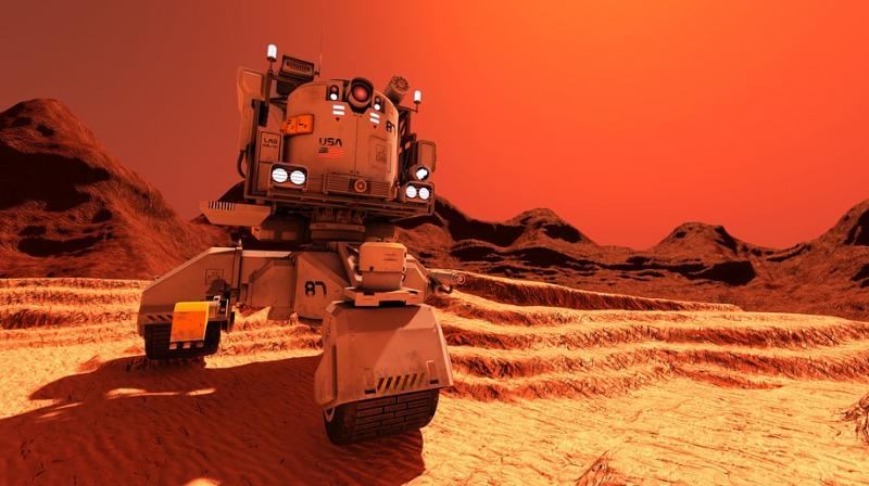 NASA scientists receive transmission from Mars rover