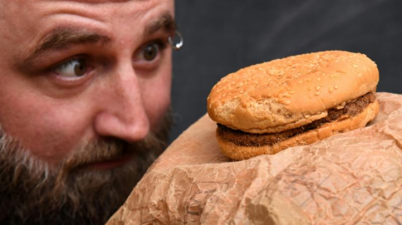 He first kept the meal in his garage but then lent it to the National Museum of Iceland, after which it was moved to a hotel in the capital Reykjavik for a while. (Photo: AFP)