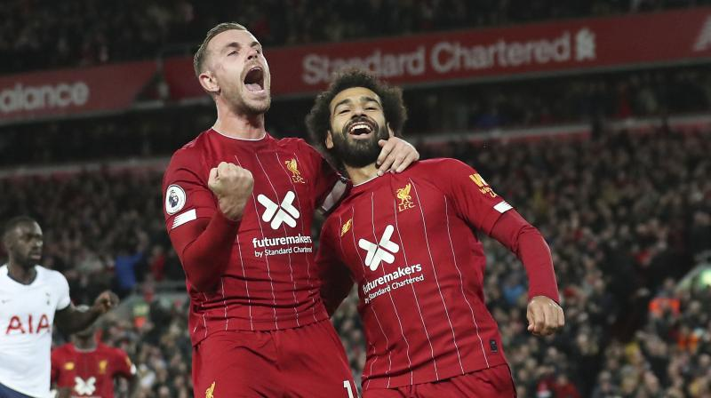 Manager Juergen Klopp has said  Mohamed Salah's Liverpool will not play their League Cup quarter-final tie if it cannot be rescheduled to a suitable date that avoids clashing with the Club World Cup in December. (Photo:AFP)