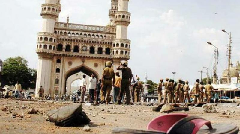 The blast at the historic Mecca Masjid in Hyderabad on May 18, 2007 during Friday prayers had claimed nine lives and left 58 others injured. (Photo: File)