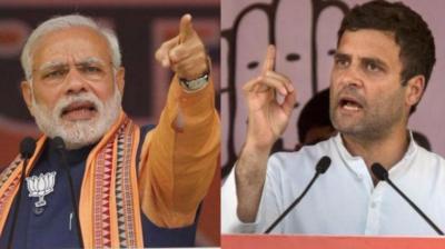 Prime Minister Narendra Modi and Congress chief Rahul Gandhi. (Photo: PTI)