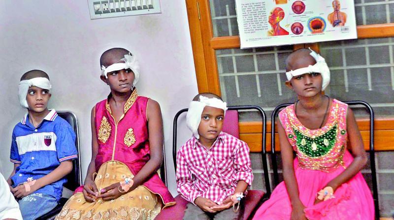 Cover cochlear surgery in NTR Vydya Seva: Surgeon