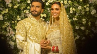 Ranveer Singh and Deepika Padukone, days after their Bangalore reception, once again looked royal at their Mumbai wedding reception.