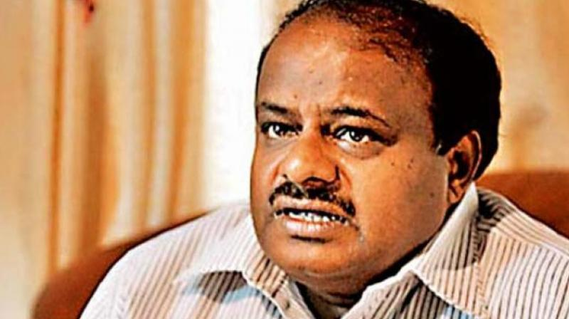 CM H D Kumaraswamy.