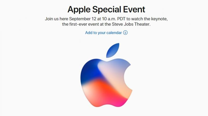 Screengrab of Apple's official website.