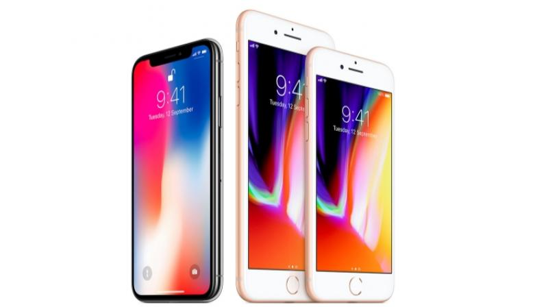 Comparatively, the current iPhone X features a 5.8-inch display and the iPhone 8 Plus has a 5.5-inch display. (Representational image)