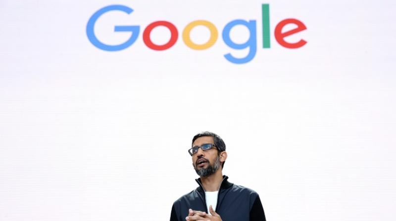 Google chief executive Sundar Pichai (Photo: AFP)