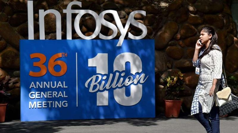 Infosys will be declaring its earnings for the quarter ended September on October 24. (Photo: PTI)