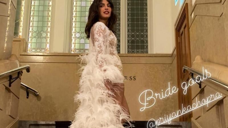 Priyanka Chopra Looks Like A Bride Celebrating Bachelorette