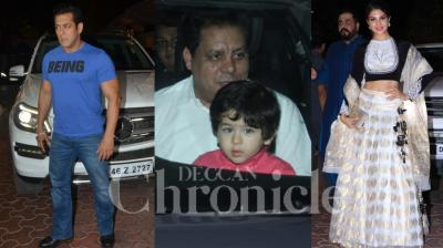 After Shah Rukh Khan, Karan Johar and Shilpa Shetty Kundra hosted a Diwali bash for B-Town celebs, which included Salman Khan and Taimur Ali Khan.