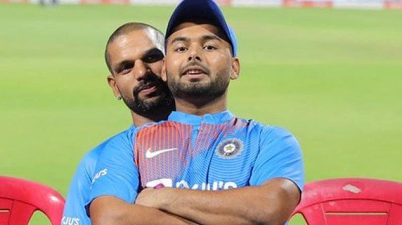 'I don't love boys that much': Dhawan reacts to his funny picture with Rishabh Pant