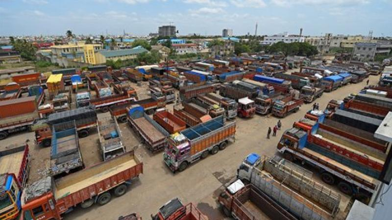 Truckers were also miffed at high insurance premia and wanted a reduction in third-party premium, exemption on third-party premia from GST. (Photo: PTI)