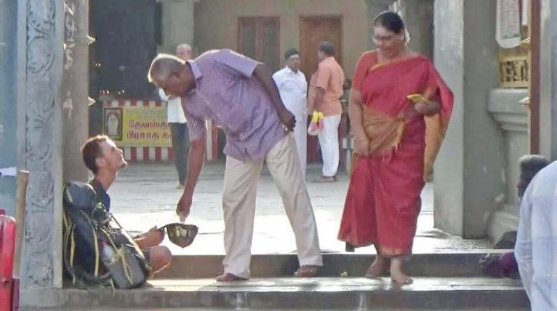 Lord Shiva told me to beg: Russian tourist