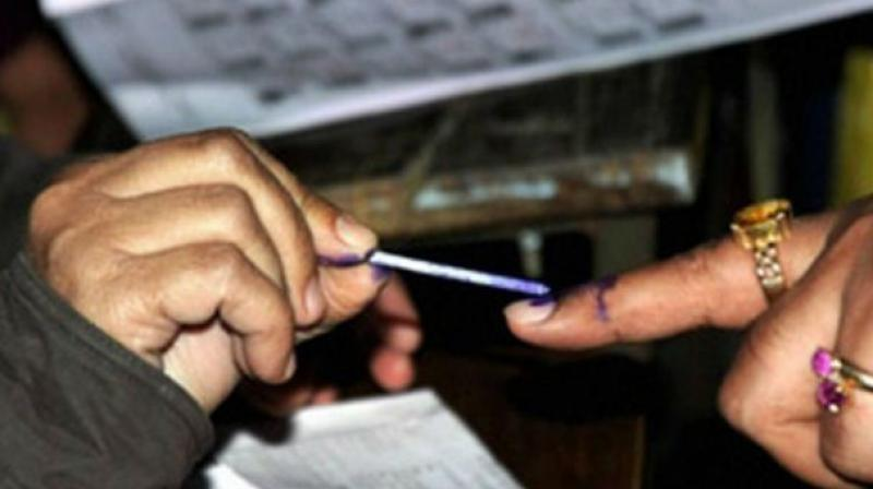 The entire polling staff were dispersed from Kadapa to their respective destinations on Wednesday afternoon.