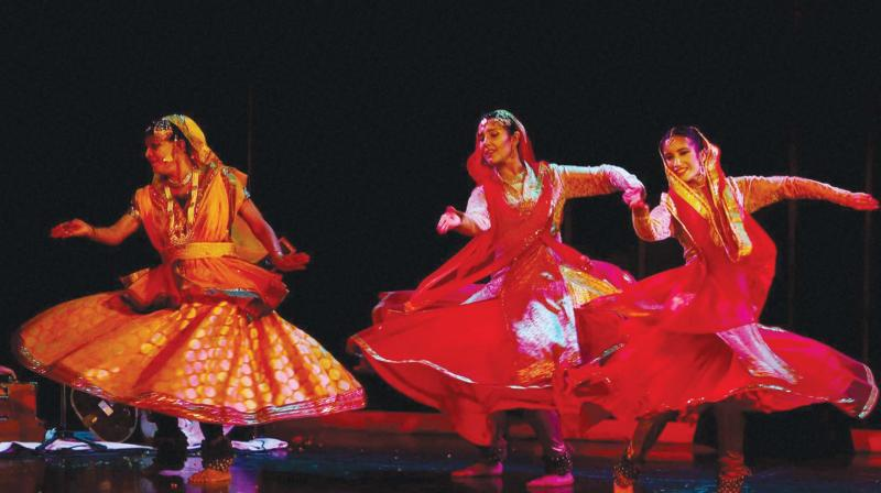 Kathak dancer extraordinaire, Shovana Narayan, continues to perform with as much energy and enthusiasm at 70 as a young artist would, reminding us that devotion to an art form is the secret to agelessness.