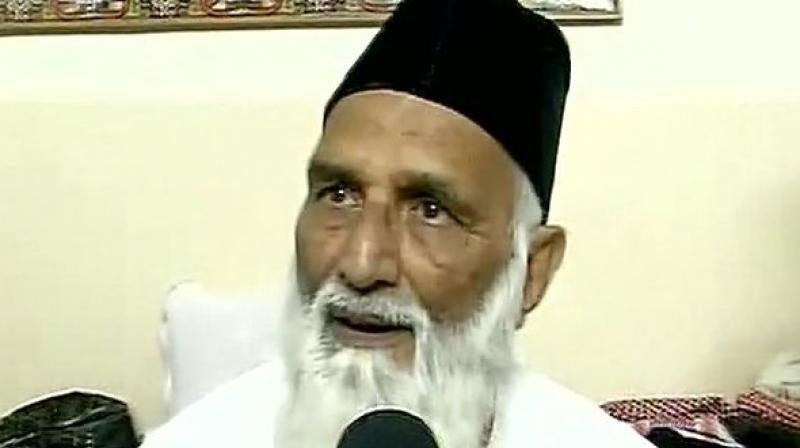 Indian cleric Syed Asif Nizami (Photo: ANI)